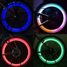 New Bicycle Bike Cycling Wheel Spoke Tire Tyre Lamp LED Light Rainbow Red TXST