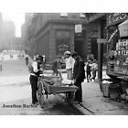 Clam Seller in Mulberry Bend, Manhattan, New York City, 1900 NYC Photo Print