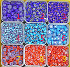 Glass Mosaic Tiles -Italy Flower Bead Wall Crafts 25g Various Mixes Optic Drops