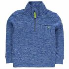 Regatta Kids Chopwell Microfleece Top Sweatshirt Jumper Junior Boys Quarter Zip