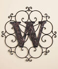 Personalized Embossed Monogrammed Metal Wall Art - NEW FREE SHIPPING