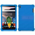 "Soft Silicone Stand Back Case Cover For 8"" Lenovo Tab3 8 Plus /P8 TB-8703 Tablet"