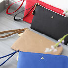 Basic Prism Strap Wallet Card Money Holder Passport Mobile Clutch Case Purse
