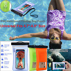 Waterproof Floating Underwater 16ft Case Dry Pouch Bag For iPhone 7 6 Samsung S8