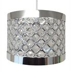 MODERN EASY FIT MODA SPARKLY CEILING PENDANT LIGHT LAMP SHADE FITTING CHANDELIER
