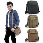 Stylish Men's Military Canvas Satchel Shoulder Bag Messenger Small School Bags