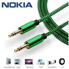 3.5mm AUX Green Headphone Jack HQ Audio Cable Lead For Nokia 6