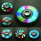 18 Styles LED light Flash Fidget Hand Spinner Finger Toy EDC Focus Gyro Gift Hot