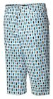 JRB Longer Length City Shorts Stretch Multi Print Cosmic Blue/Grey 10, 12,14, 16