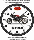 2015 MOTO GUZZI GRISO MOTORCYCLE WALL CLOCK-FREE USA SHIP, BMW, TRIUMPH, DUCATI $26.99 USD on eBay