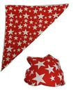 USA Patriotic Colored Stars Bandana