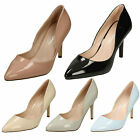WHOLESALE Ladies Pointed Toe Court Shoes / Sizes 3-8 / 14 Pairs / F9999