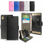 Card ID Wallet leather Magnetic Flip Stand Case Cover For Sony Xperia XA1 Ultra