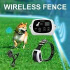 Wireless Rechargeable 1-2-3 Dog Fence No-Wire Pet Containment System Waterproof