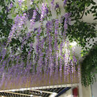 New Artificial Fake Wisteria Vine Ratta Hanging Garland Silk Flowers String