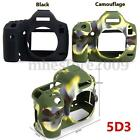 Silicone Rubber Protector Bag Body Camera Cover Case Skin For Canon 6D 70D 5D3