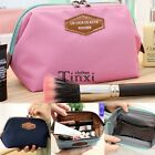 Women Lady Travel Makeup bag Cosmetic pouch Clutch Handbag Casual Purse -Free SP