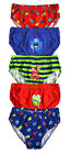 Boys Briefs New Kids Multipack 5 Pack Underwear 100% Cotton Pants Ages 2 - 6 Yrs