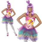 katy perry peppermint dress costume - Katy Perry Costume Ladies Candy Queen Celebrity Fancy Dress XS-M