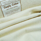 Simply Cotton 100% Wadding 50cm x 110cm / batting quilting patchwork traditional