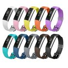 Replacement Silicone Band With Watch Buckle Strap for Fitbit Alta HR and Alta
