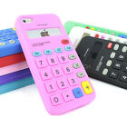 For Apple iPhone 5S 5C SE 5 Calculator Silicone Rubber Gel Soft Case Skin Cover