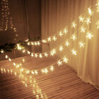 50/30 LED Xmas Stars Fairy String Lights Wedding Decor Waterproof