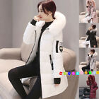 Fashion Winter jacket Women Down Jackets Warm Padded Cotton Coat Long Parka