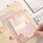 Paper Doll Mate Sticky Note Post-It Book Decor Bookmark Tab Memo Index Marker