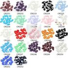 10pcs Crystal Teardrop Beads 12mm Faceted Top Drilled DIY Jewelry Pendants BF