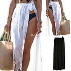 Chiffon Swimwear Beach Wear Wrap Sarong Skirt Dress Long Cover up Bikini DZ88