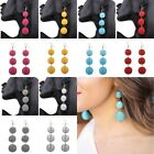 Fashion Boho Charm Bead Tassel Pendant Drop Statement Dangle Women Earrings gift