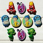 50pcs Inside Out Hot Cartoon PVC Shoe Charms Accessories Kids Children As Gift
