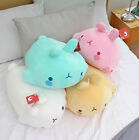 "Molang 20"" Lieing Cute Rabbit Bunny Soft Doll Cushion Pillow Mozzi Anime Toy"