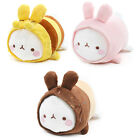 "Molang 14"" Lieing Cute Rabbit Bunny Soft Doll Cushion Pillow Anime Toy Gift"