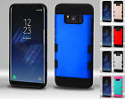 FOR APPLE IPHONES 8 HEAVY DUTY CASE SLIM IMPACT RUGGED HYBRID COVER+FILM