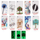 For Huawei P8 Lite Noctilucent Flexible Soft TPU Silicone Gel Cover Case