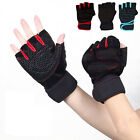 Unisex Cycling Gloves Bicycle Motorcycle Sport Half Finger Gloves M- XL Size New