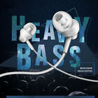 HongBiao M8 Bass Earphone 3.5mm Handsfree Control For Mobile Smart Phone White