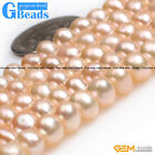 Natural Freshwater Cultured Pearl Rondelle Spacer Seed Beads For Jewelry Making