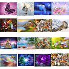 5D DIY Diamond Flower Animal Painting Embroidery Cross Crafts Stitch Home Decor