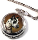Great Dane by Carl Reichert Full Hunter Pocket Watch (Optional Engraving)