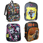 "16"" Kid's Back-to-School Backpacks - Star Wars, Monster High and Sky Tube Heroes"