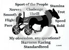 Harness Racing Standardbred Horse My Obsession,Questions? Sweatshirt choice