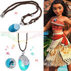 New Glowing Music Moana Necklace Jewelry Pendant Princess Heart of Te Fiti Girl
