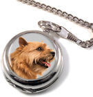 Norwich Terrier Full Hunter Pocket Watch (Optional Engraving)