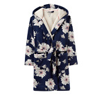 Joules Idlewhile Fleece Lined Dressing Gown (X) **FREE UK Shipping**