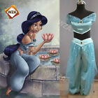 Women Aladdin Jasmine Princess Costume Disney Halloween Book Day Party Outfit