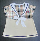 BABY GIRL DRESS Designer Outfit Top & Dress Soft Cotton Formal Casual Clothing