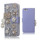 For iPhone 6 / 6S Leather Wallet Cute Cover Case Bling Glitter for Girls Women